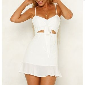 Hello Molly white summer dress WITH TAGS